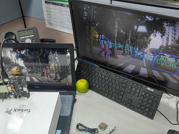 基于 Qualcomm APQ8053 + GPS 之 ADAS 深度学习辨识方案