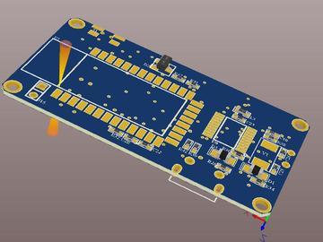 老人跌倒检测仪 (基于STM32和三轴加速度传感器ADXL335)(毕业设计,原理图+PCB图+源码+已经制作了成品)