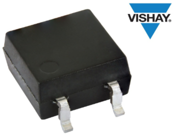 Vishay推出SOP-4微型扁平封装的新型汽车级光电晶体管耦合器