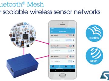 意法半导体将在CES上展示如何用新软件实现蓝牙Mesh网络