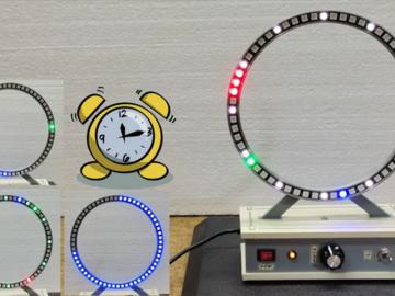 基于 Arduino Nano R3 的模拟式环形时钟