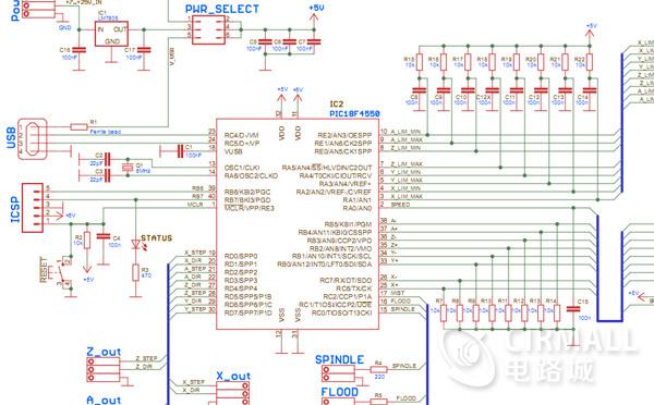 【开源】基于PIC18F4550的CNC控制卡资料分享