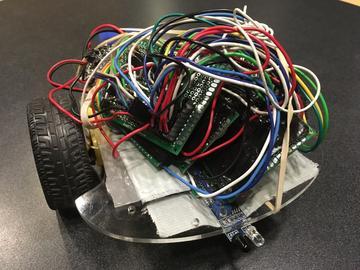 国外大神教你制作用晶体管编程的机器人