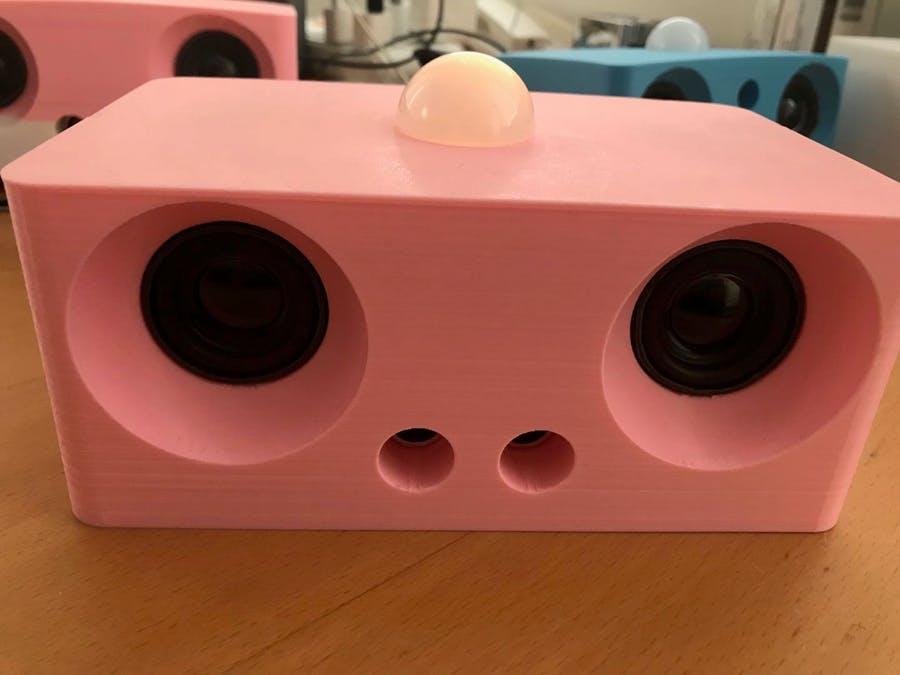 專為兒童定制的自動音頻播放器