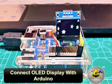 如何将OLED显示与Arduino Uno连接