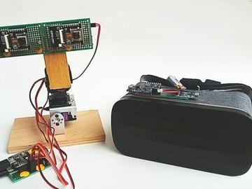 基于ESP32摄像头的VR远距离云台