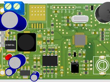 基于stm32f103c8t6的T12电烙铁控制器(keil工程源代码+AD PCB工程)