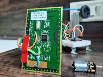 基于Arduino 的触摸板控制的数字伺服电机