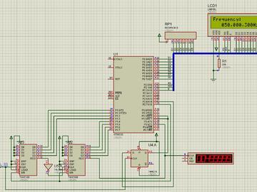 基于STC89C52设计的等精度频率计电路方案(源码+原理图)