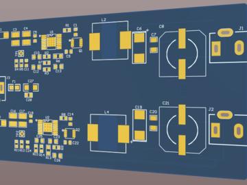 TPS54550-DCDC电源模块电路方案设计(PCB+原理图】