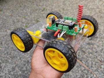 基于ESP8266智能WIFI控制小车