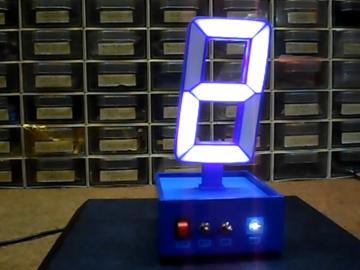 一个大数字,功能齐全的Arduino Nano时钟
