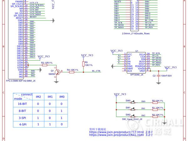 2.8寸TFT液晶屏模块工艺制作方案
