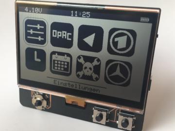 常亮仅300μW功耗,基于ESP32的低功耗显示屏DIY