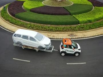 搭L4级自动驾驶 五菱厂区无人驾驶物流线路建成