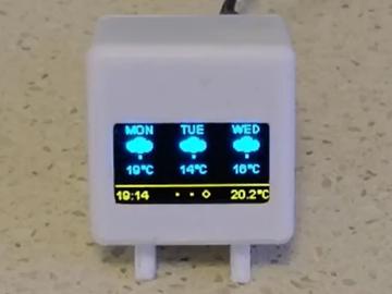基于 ESP8266 的微型气象站