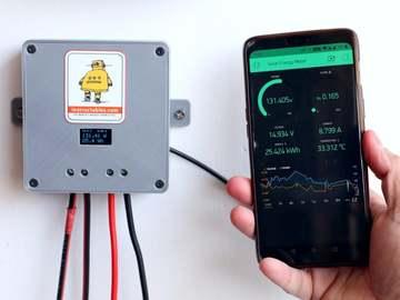 基于ESP32开发板的DIY太阳能电池板监控系统