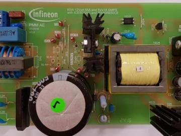 基于Infineon第五代Coolset ICE5QSAG 50W Open frame电源方案电路设计