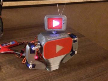 基于Arduino制作的趣味型机器人