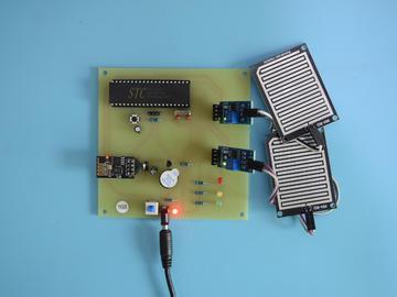 51单片机WiFi手机APP水位检测水塔液位测量仪168-(pcb+源码+电路图+参考文档)