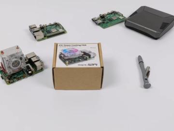 低型冰塔散热器-终极Raspberry Pi 4散热器