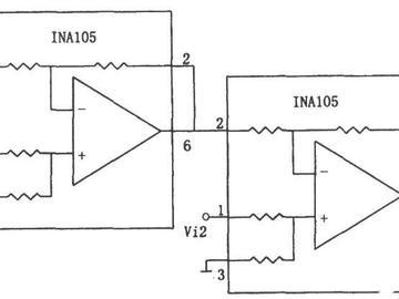 基于741、1458、INA105的三款减法器电路设计