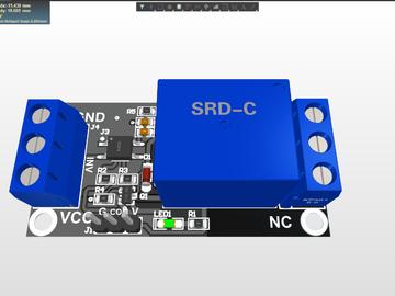 1 2 4 8路5V12V24V继电器模块带光耦隔离支持高低电平触发开发板