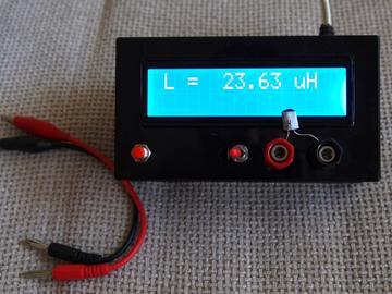 PIC单片机制作电感电容测试仪(原理图+源码)