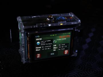 基于 树莓派model B 的网络安全设备