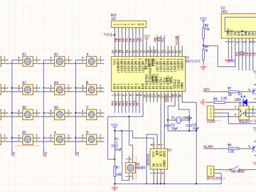 基于51单片机实现电子密码锁的电路方案设计(原理图+仿真文件+程序+论文)