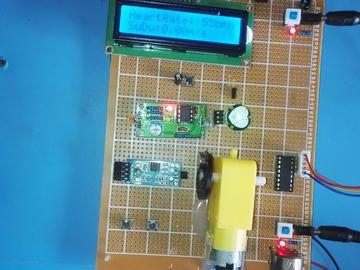 基于51单片机的跑步机设计-心率-霍尔测速-步进电机-(源码+电路图)