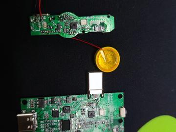 基于LDR6023C的无线领夹麦克风PD快充充电方案 5V充电方案