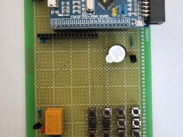 基于STM32设计的电子密码锁电路方案(pcb+源码)
