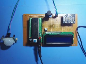 基于51单片机红外声音颜色识别系统设计(源码+电路图)