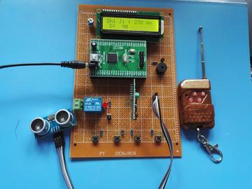 MSP430F149单片机的超声波防撞系统设计(原理图+源码+pcb+参考文档)
