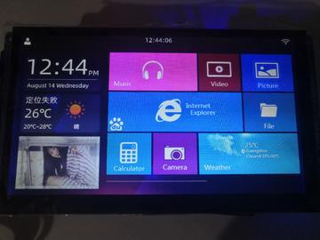 可兼容正点原子的7寸LCD屏的电路方案设计( 原理图+PCB)