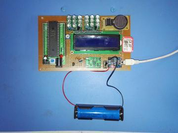 基于51单片机LED探照灯设计(源码+电路图)