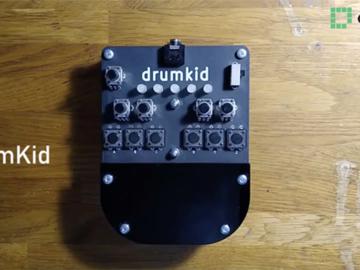 基于ATmega328的低保真数字鼓机DrumKid电路设计