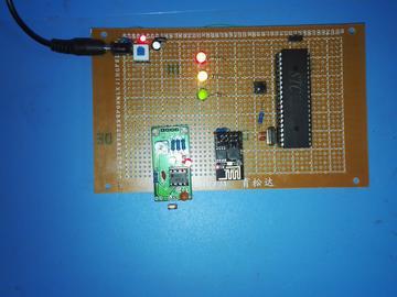 基于51单片机wifi控灯亮灭及亮度及光敏自动调光设计-(源码+电路图)