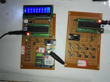 51单片机主从机无线数据传输设计(源码+电路图)
