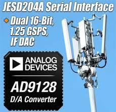 ADI推出数模转换器AD9128 简化FPGA接口