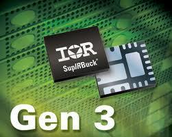 IR推出第三代多功能高度集成式SupIRBuck负载点稳压器
