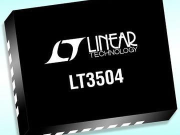凌力尔特推出具100%占空比操作能力的降压型开关稳压器LT3504