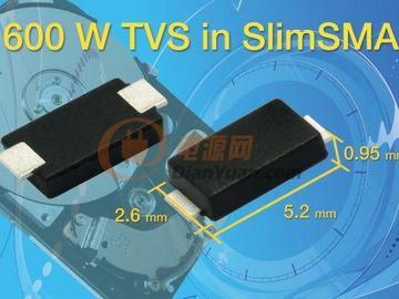 Vishay推出采用SlimSMA封装的新系列表面贴装TVS--SMA6F