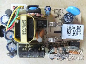 摩托罗拉手机充电器拆解
