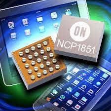 安森美推出完全可编程锂离子开关电池充电器NCP1851