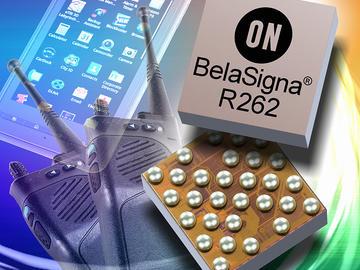 安森美推出BelaSigna R262宽带先进降噪SoC