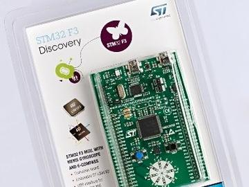 ST宣布STM32 F3微控制器正式量产 并推出内建9轴MEMS感测器的开发套件