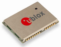 u-blox针对M2M应用推出超小型GSM模组─SARA