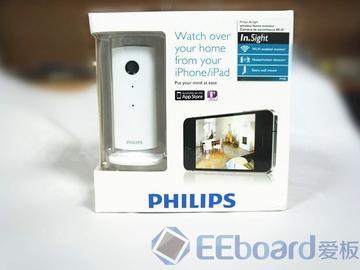 Philips In.Sight无线家居监控器开箱安装评测